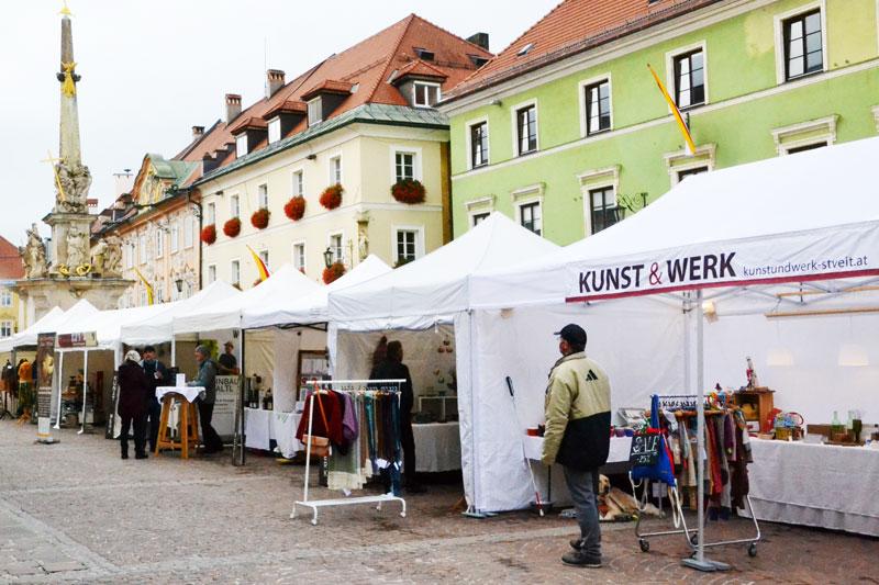 Kunst & Werk Zeltreihe