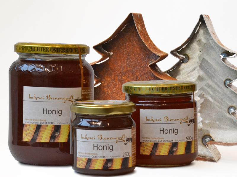 Honig, Metall-Tannenbäumchen