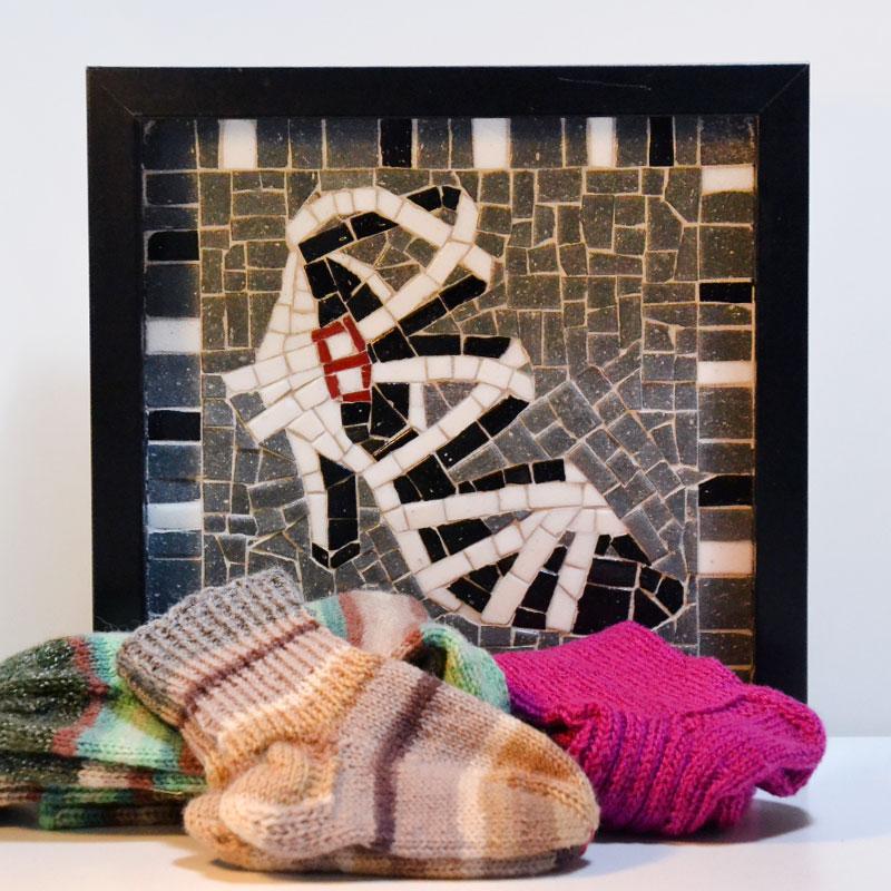 Mosaik, Socken