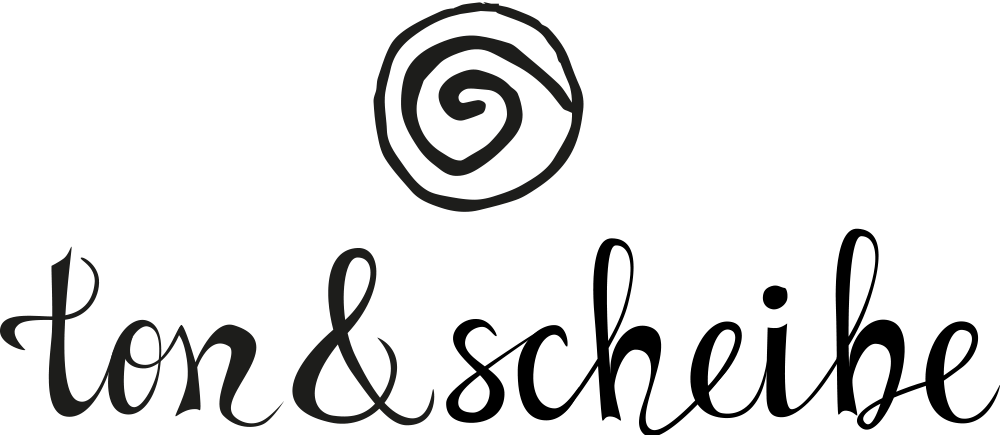 Logo ton und scheibe
